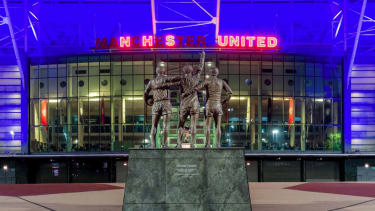 Manchester United Old Trafford NHS tribute Twitter