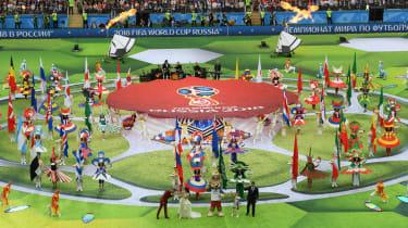 World Cup opening ceremony Luzhniki Stadium