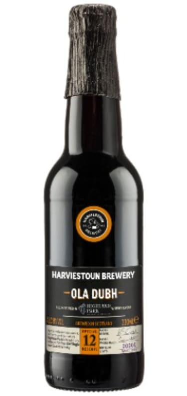 Harviestoun Brewery  Ola Dubh 12yr old Whisky Aged 8%