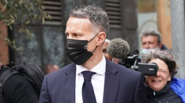 Ryan Giggs leaves Manchester Magistrates' Court