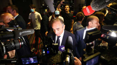 French television pundit and potential presidential candidate Eric Zemmour