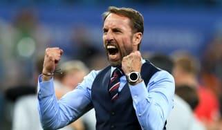 Gareth Southgate injury England World Cup