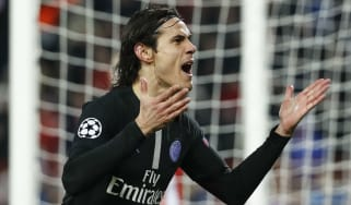 Paris Saint-Germain and Uruguay striker Edinson Cavani
