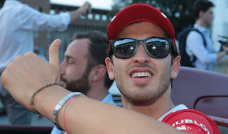 Antonio Giovinazzi Sauber 2019 line-up F1