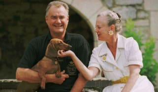 Prince Henrik and Queen Margrethe