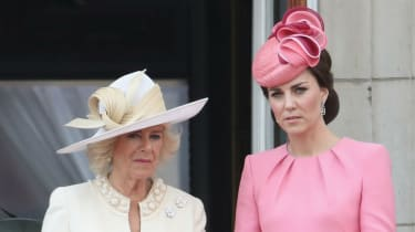 The Duchess of Cornwall and the Duchess of Cambridge