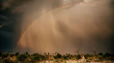 Okavango Delta storm