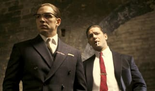 Tom Hardy plays the Kray twins in Legend