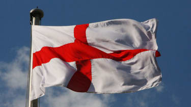The St George flag