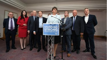 Arlene Foster and DUP MPs