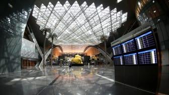Hamad International Airport in Doha, Qatar