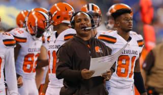 Hue Jackson Cleveland Browns