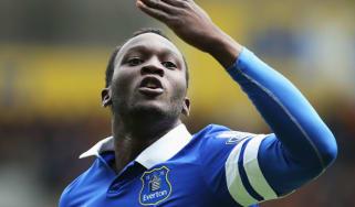 Everton's new striker Romelu Lukaku