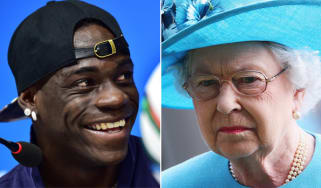 Mario Balotelli, The Queen