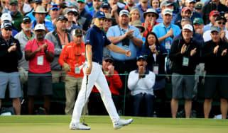 2018 Masters golf Jordan Spieth Sergio Garcia