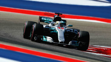 British driver Lewis Hamilton has won the previous four United States GPs with Mercedes