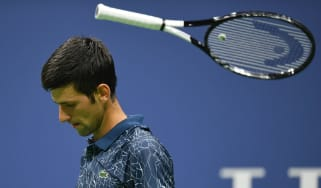 Novak Djokovic US Open tennis Tennys Sandgren