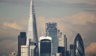 LONDON, ENGLAND - FEBRUARY 18:London's financial district, known as the Square Mile, is dominated by sky scrapers on February 18, 2014 in London, England.(Photo by Peter Macdiarmid/Getty Imag
