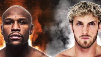 Floyd Mayweather will fight Logan Paul on 6 June
