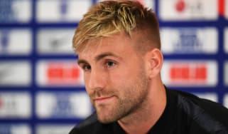 Luke Shaw injury Man Utd England