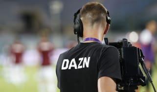 DAZN cameraman
