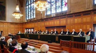 The International Court of Justice in The Hague