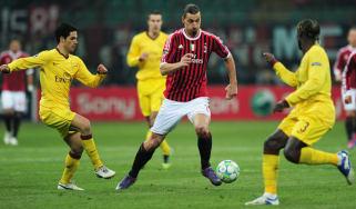 AC Milan v Arsenal Europa League last 16 draw