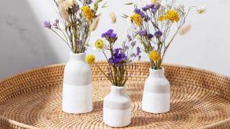 Sculpd x Bloom & Wild - Dried Flower Arranging & Clay Vase Making Kit