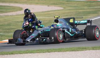 Lewis Hamilton Valentino Rossi