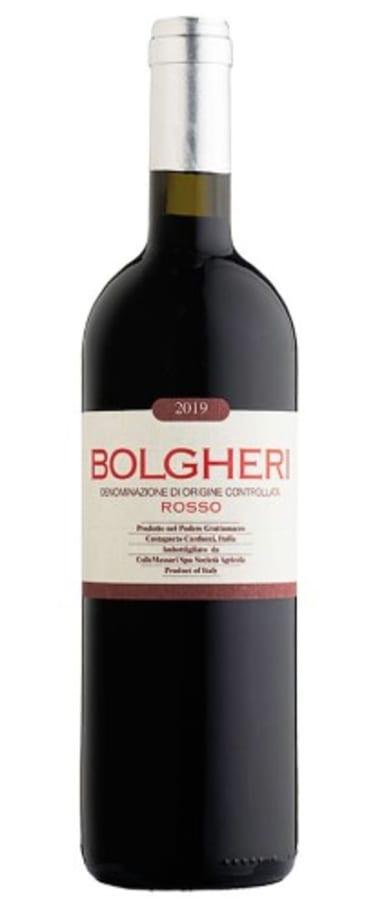 2019 Bolgheri Rosso, Grattamacco, Tuscany, Italy