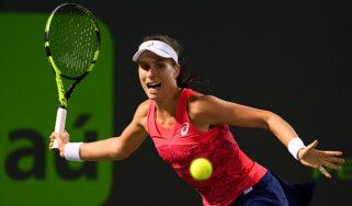 Johanna Konta defeats Venus Williams in Miami