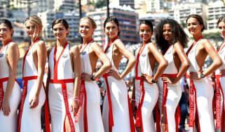 Grid girls Monaco Grand Prix Formula 1 AMC Liberty Media