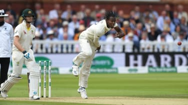 England bowler Jofra Archer has impressed in his first two matches in Test cricket