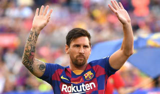 Barcelona and Argentina superstar Lionel Messi