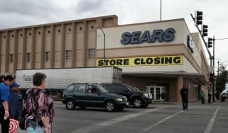 A Sears store closing down in Chicago