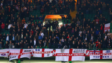 England fans during  during the International Friendly between Scotland and England