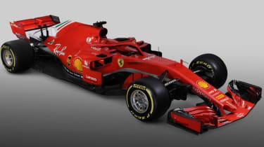 Ferrari SF71H F1 car launch 2018