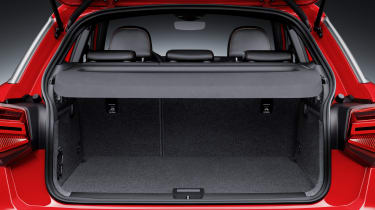 Luggage compartment,Colour: Tango Red