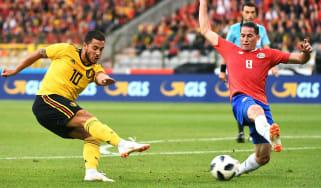 Eden Hazard Belgium World Cup group G