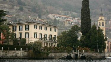 George Clooney's Lake Como home
