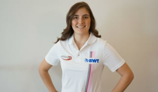 Tatiana Calderon has signed for the BWT Arden Formula 2 team