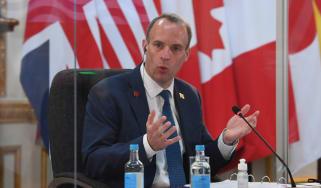 Dominic Raab G7