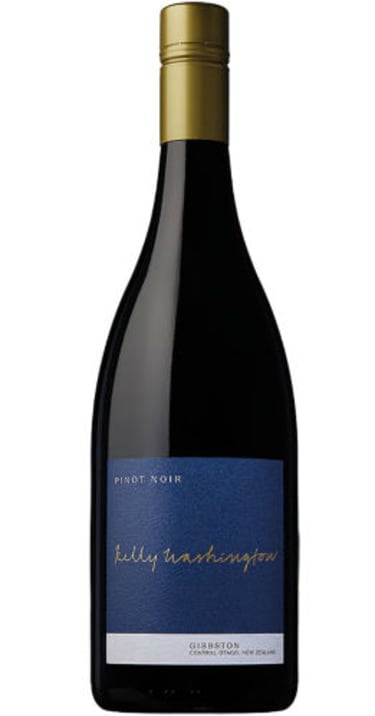 2018 Kelly Washington, Pinot Noir, Central Otago, New Zealand