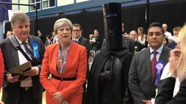 Lord Buckethead & Theresa May