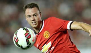 Man Utd's Jonny Evans