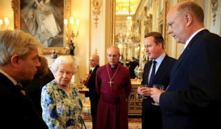 David Cameron The Queen John Bercow