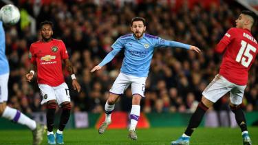Man City midfielder Bernardo Silva scored a superb goal at Old Trafford against Man Utd