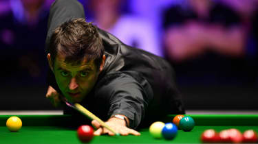 English snooker player Ronnie O'Sullivan is a five-time world champion