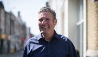 Keir Starmer during a visit to Ipswich this week