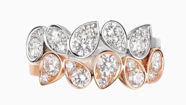 Stacking rings from the new Chaumet Joséphine Ronde d'Aigrettes collection